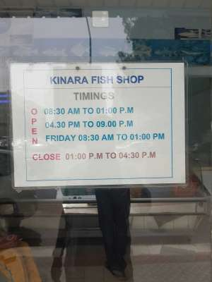 Kinara Fish Shop in kuwait