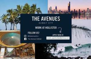 the-avenues-hollister-co in kuwait