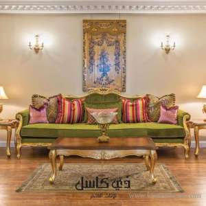 Castle Luxury Furniture Showroom in kuwait