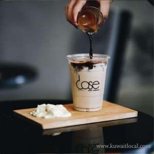 Dose Cafe Coffee Shop The Lake Mall in kuwait