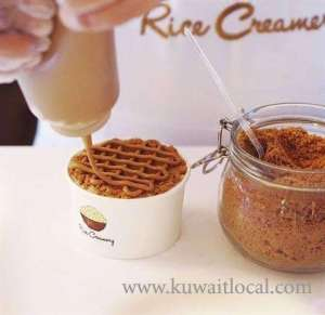 rice-creamery-cafe-desserts-jahra in kuwait