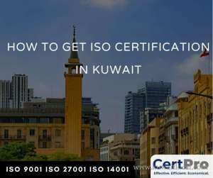 CertPro ISO Certification in kuwait