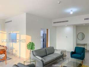 semifurnished-two-bedroom-apartment-for-rent-in-sharq in kuwait