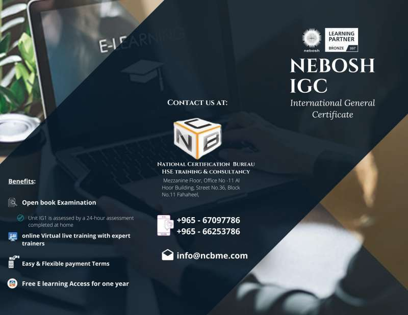nebosh-igc-open-book-examination-kuwait