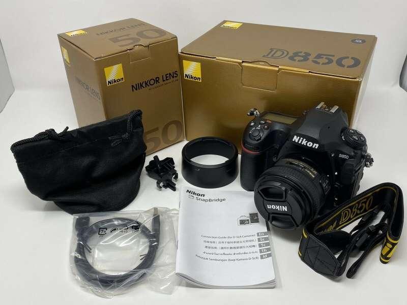 nikon-d850-457mp-fx-digital-slr-camera-with-nikkor-50mm-f14g-lens--kuwait