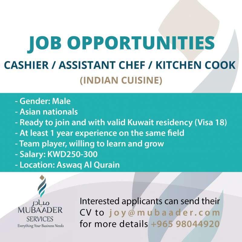 cashier--asst-chef--kitchen-cook-kuwait