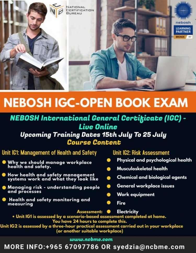 nebosh-igc-open-book-examination-training-in-kuwait-kuwait