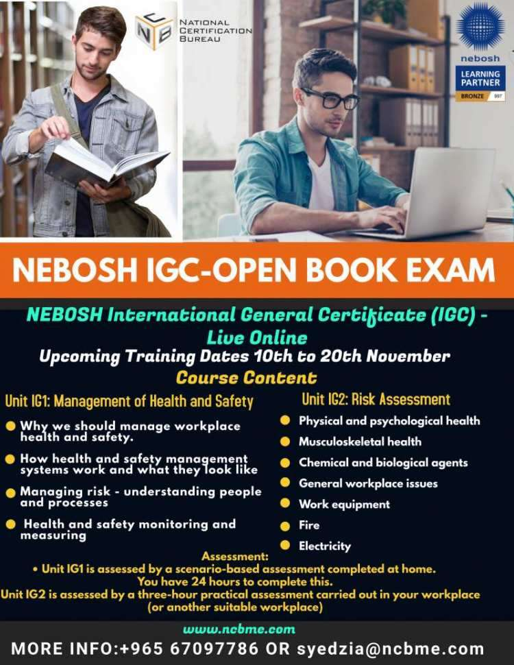 nebosh-igc-open-book-examination-training-in-kuwait-18-kuwait