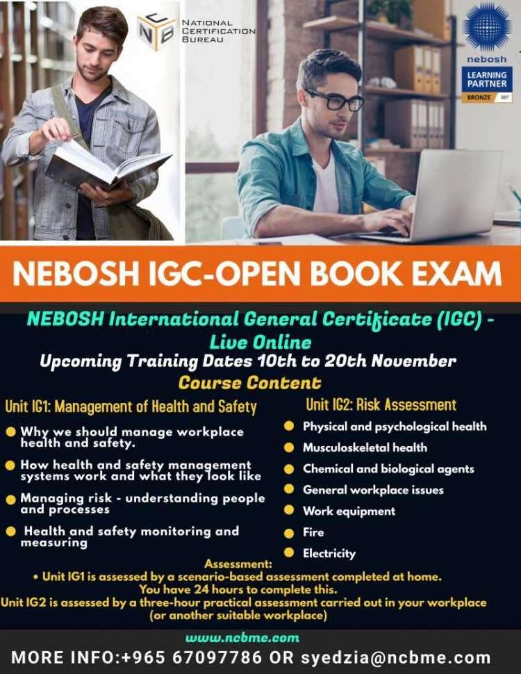nebosh-igc-open-book-examination-training-in-kuwait-14-kuwait