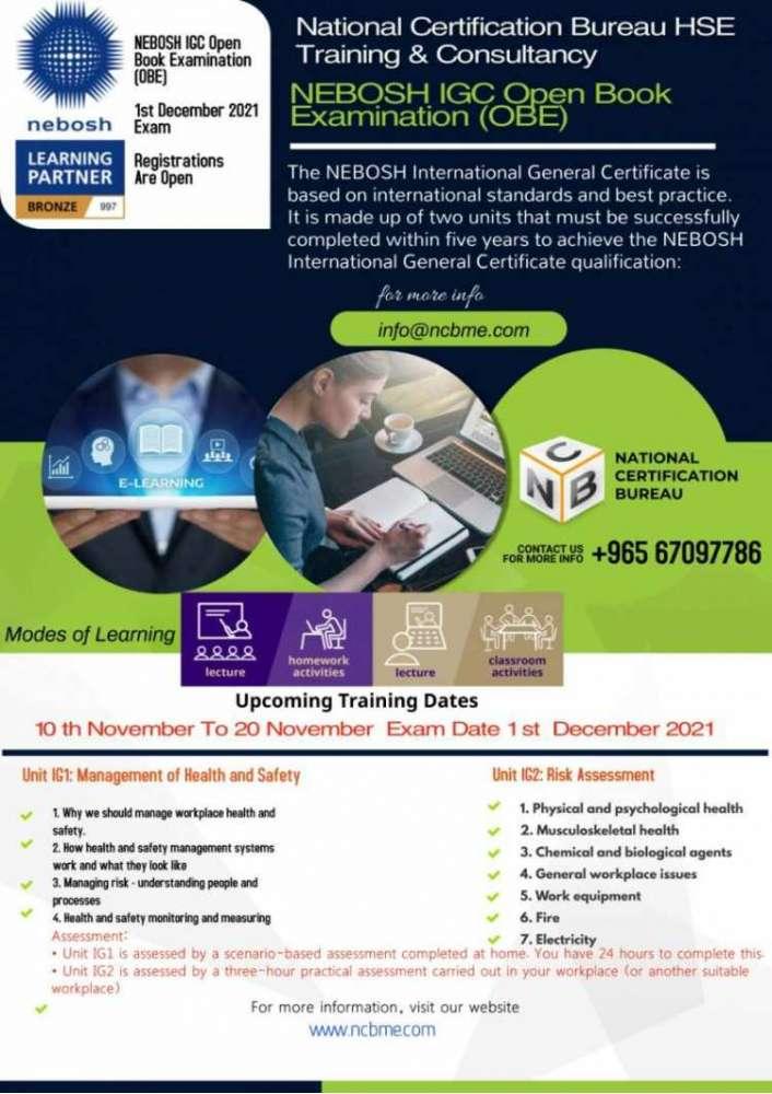 nebosh-igc-open-book-examination-training-in-kuwait-16-kuwait