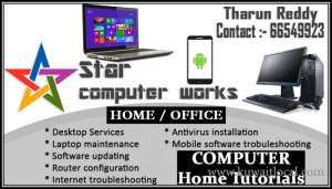 Computer Service And Support Available At Home Or Office - 66549923 in kuwait