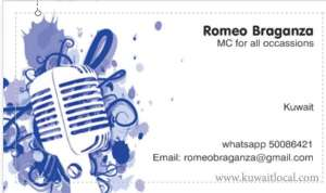 MC For All Your Occasions in kuwait