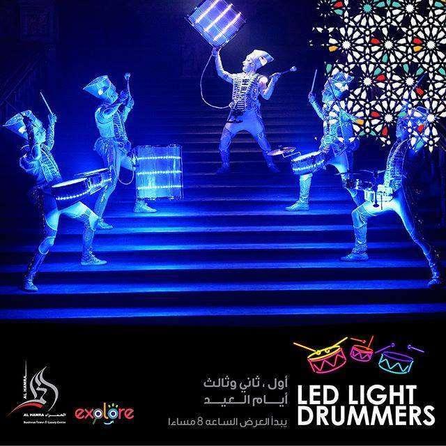 -led-light-drummers-kuwait