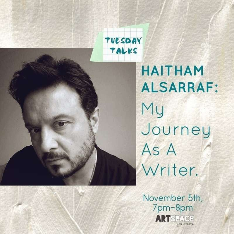 haitham-alsarraf--my-journey-as-a-writer-kuwait