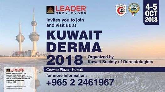 leader-healthcare-at-kuwait-derma-2018-kuwait