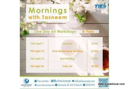 one-day-art-workshops-in-ties-centre-,-clay-art-kuwait