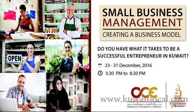 small-business-management--creating-a-business-model-kuwait