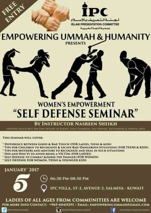 womens-empowerment-self-defense-seminar_kuwait