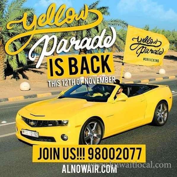yellow-parade-kuwait