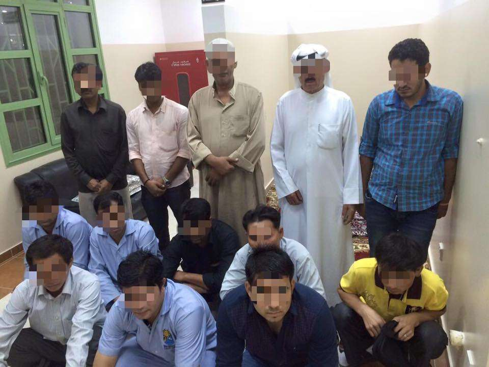 illegal-residents,-wanted-expats-arrested-in-al-rai-industrial-area-_kuwait