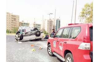 a-kuwaiti-citizen-dies-in-accident-when-a-vehicle-toppled-on-sixth-ring-road_kuwait