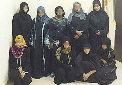 9-women-were-arrested-for-operating-a-bogus-domestic-workers-office_kuwait