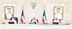 cabinet-discusses-hh-the-amir's-state-visit-to-china_kuwait