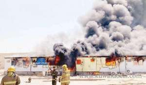 fire-broke-out-in-labor-accommodation_kuwait