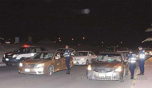 police-issues-300-direct-citations-to-speedsters_kuwait