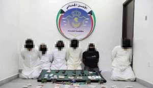 6-members-arrested-for-trafficking-narcotic-substances-to-the-country_kuwait