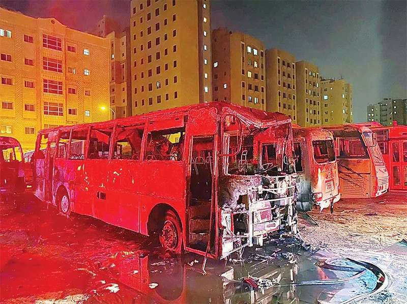 probe-underway-as-fire-erupts-in-four-buses_kuwait