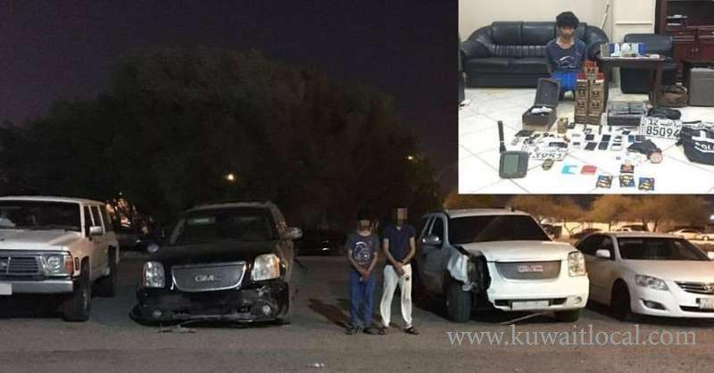 2-citizens-arrested-for-committing-19-thefts_kuwait