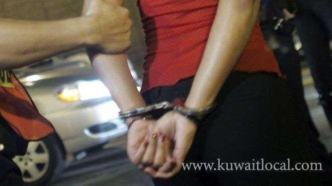 woman-and-her-three-daughters-arrested_kuwait