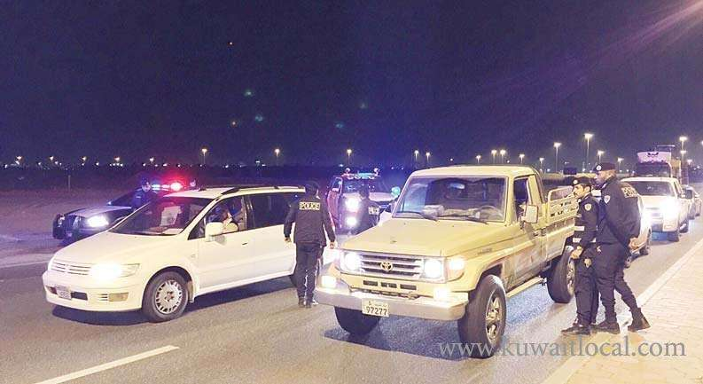 25-vehicles-seized-in-traffic-campaign_kuwait