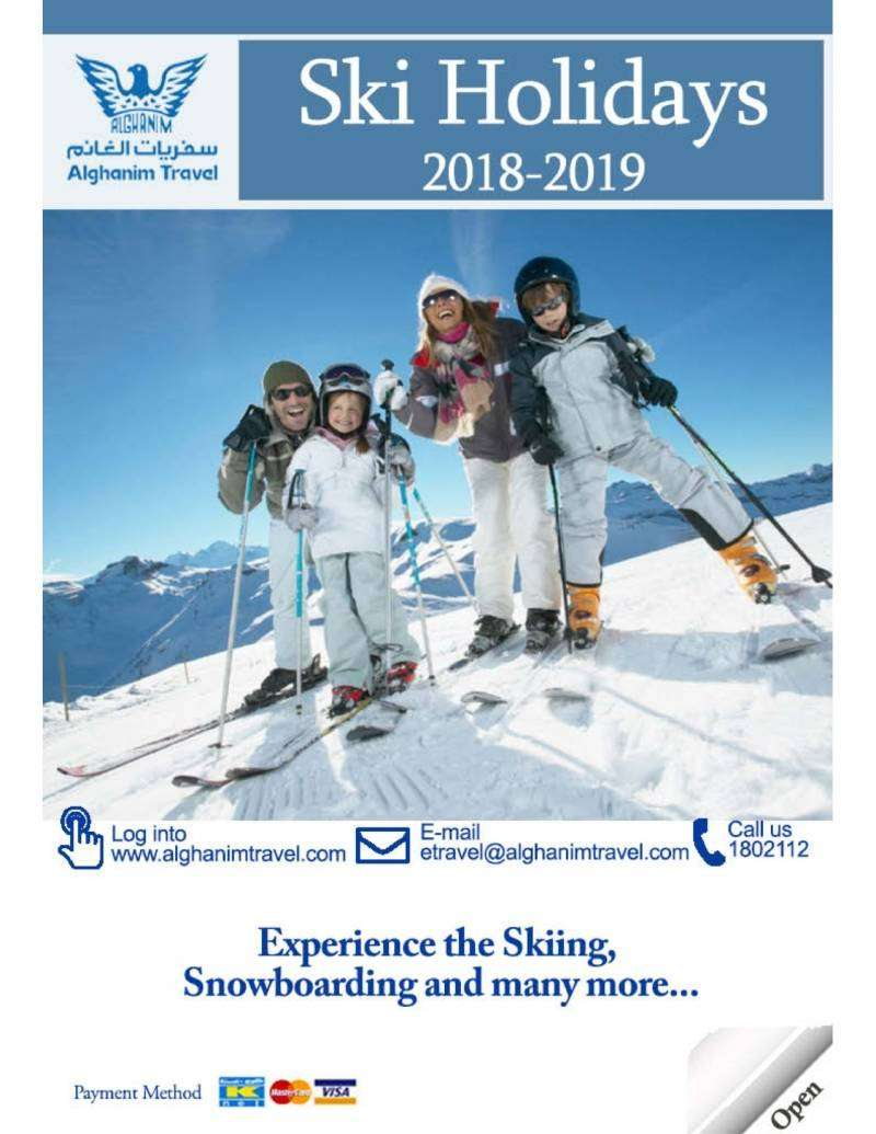 ski-holiday-packages-2018-2019-kuwait