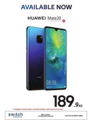 huawei-mate-20---available-now in kuwait