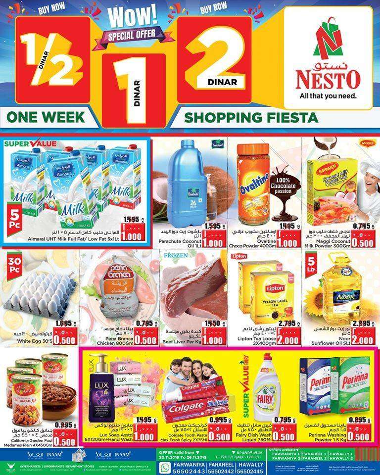 nesto-hypermarket-one-week-shopping-fiesta-kuwait