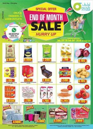 olive-hypermarket-end-of-month-sale-offers in kuwait