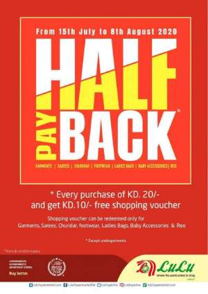 lulu-hypermarket-half-pay-back-deals in kuwait