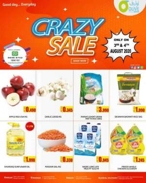 olive-hypermarket-crazy-sale-offers in kuwait