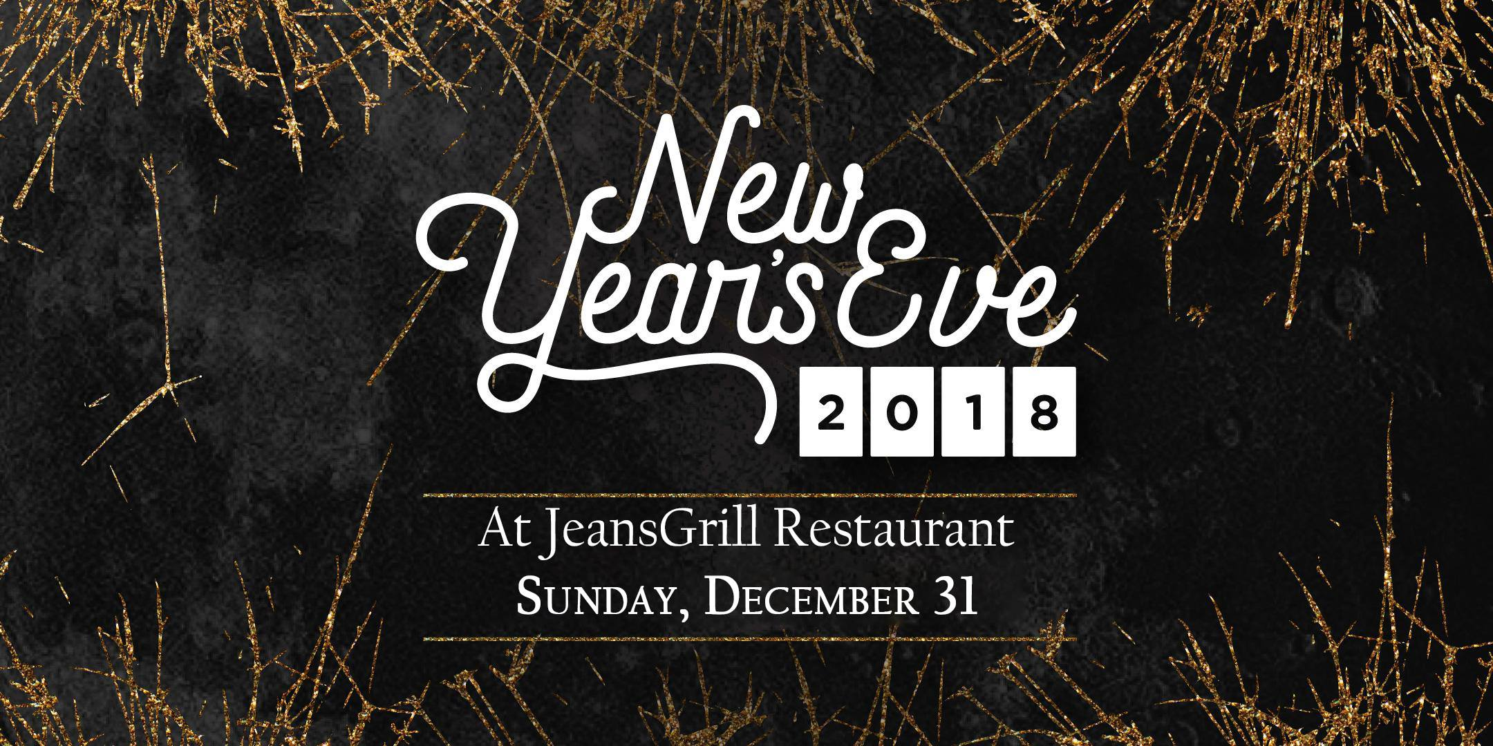 New Years eve at Jeans Grill restaurant